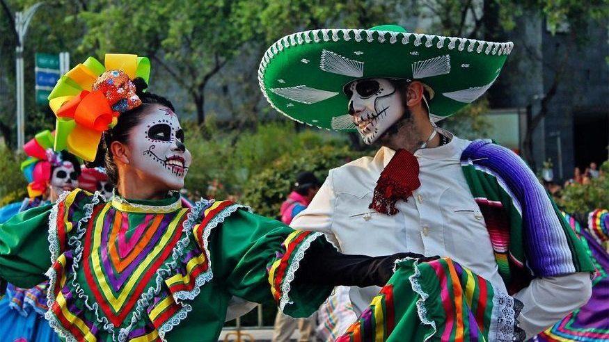 dia de los muertos mexicaans duo