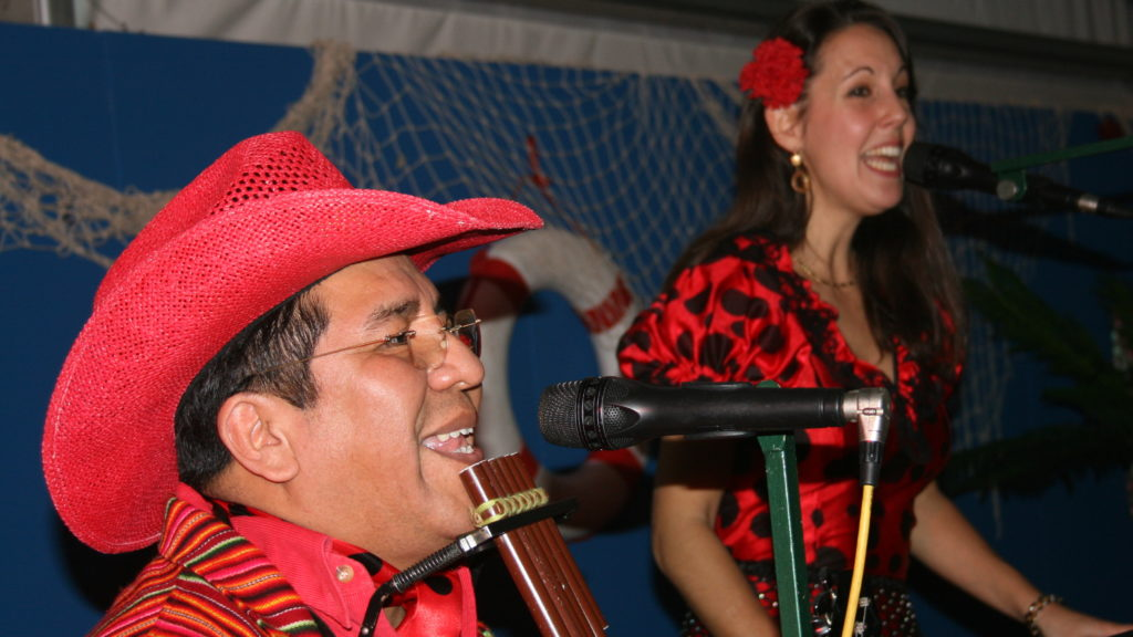 Spaans duo Los del sol Spaanse muziek