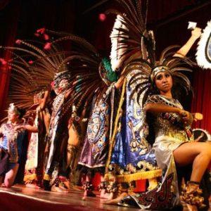 Indianen dansshow los del sol