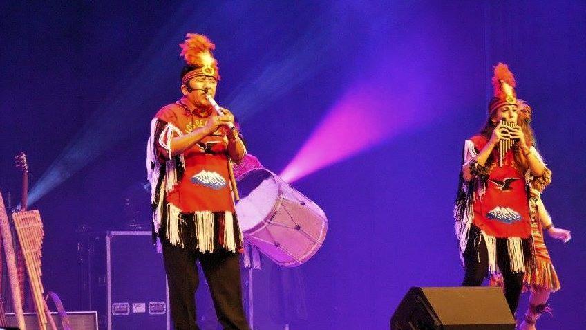 panfluitmuziek, zuid-amerikaanse muziek los del sol