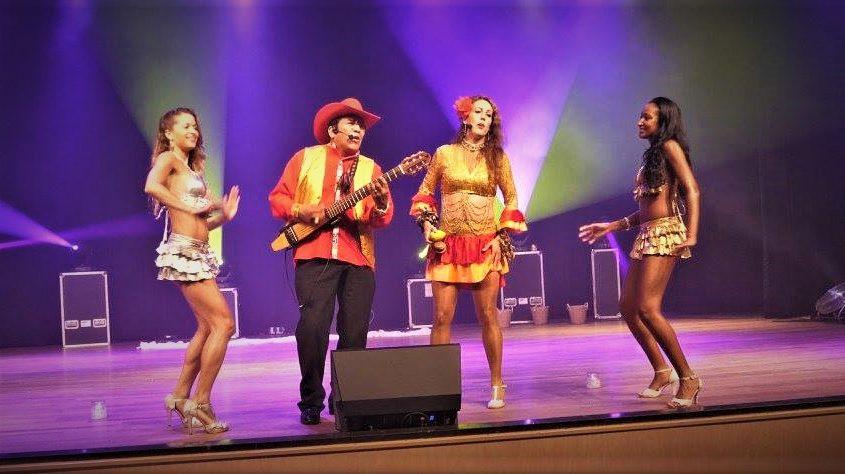 los del sol podiumshow latin music