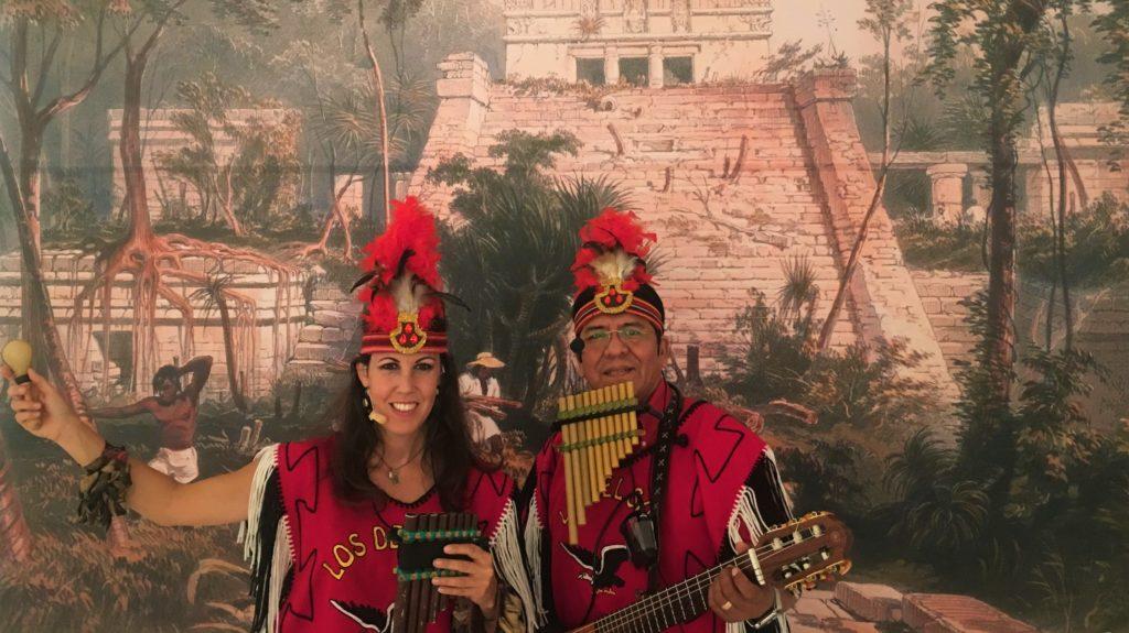 Los del Sol, maya indianen, panfluitmuziek, panfluiten