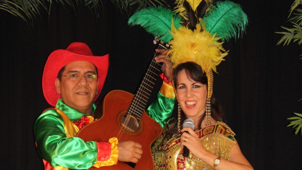 Los del Sol -tropische muziek duo