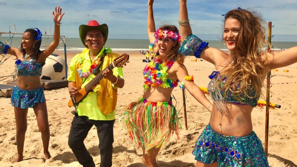 Los del sol tropische muziek beachparty