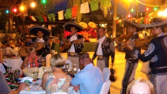 Mexicaans mariachi orkest