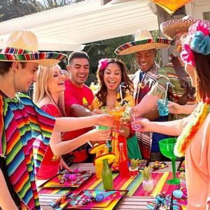 Mexicaans themafeest LDS1