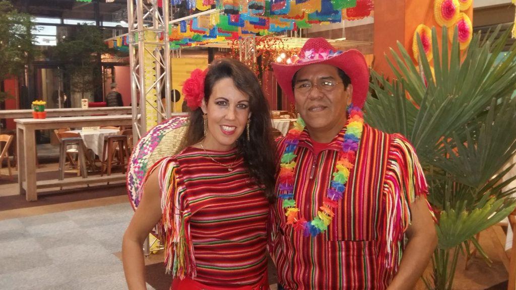 Mexicaans, zuid-Amerikaans, tropisch duo Los del sol