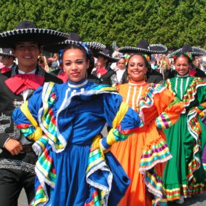 Mexicaanse dansgroep lds vk