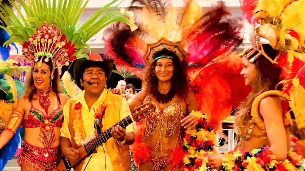 caribische tropische muziek los del sol