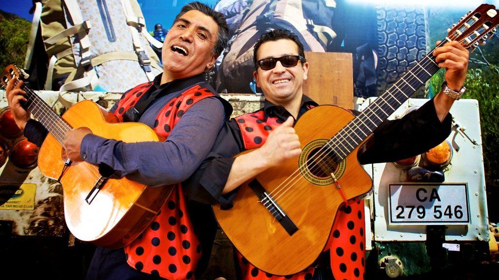 spaans duo, gitaarduo, spaanse zanger