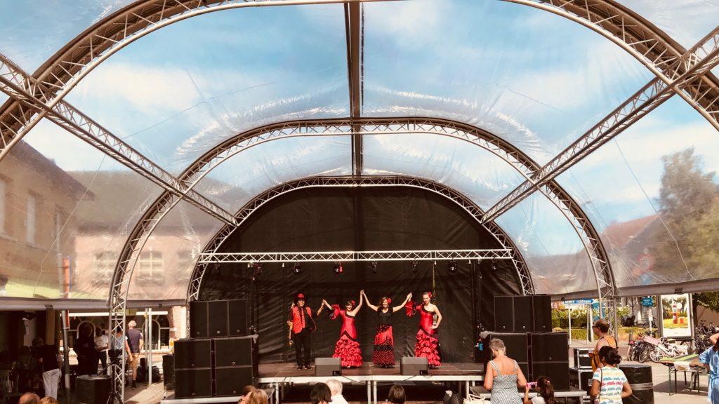 flamencoshow Los del Sol spaanse danseressen