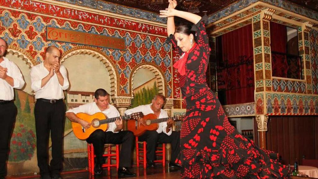 flamenco danseres klassieke cuadro flamenco