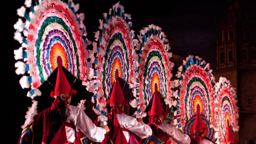 Maya dansers, Maya dansgroep, Maya indianen