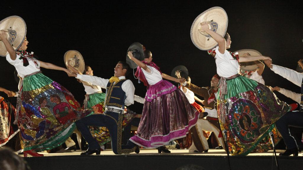 Mexicaanse dansgroep, Mexicaanse dansers, Mexicaanse danseressen lds