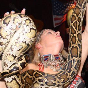 slangenshow los del sol, slangenshow, slangenact