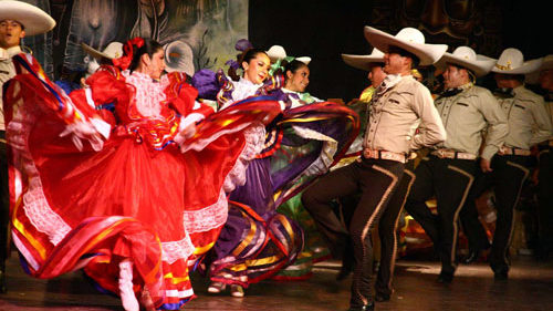 Mexicaanse dans, Mexicaanse dansgroep, Mexicaanse danseressen, Mexicaanse dansshow