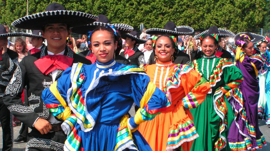Mexicaanse dans, Mexicaanse dansgroep, Mexicaanse danseressen, danse Mexicaine