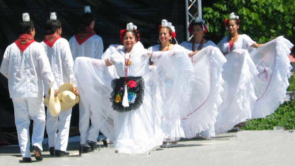 Mexicaanse dans, Mexicaanse dansgroep, Mexicaanse danseressen, Veracruz