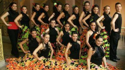 Spaanse dansgroep, Spaanse danseressen, flamenco danseressen, flamingo