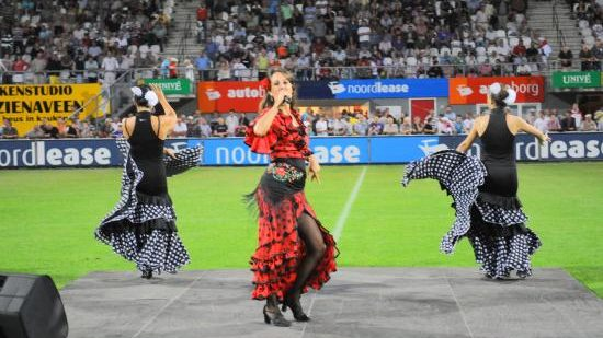 flamencoshow, Spaanse dansgroep, Spaanse danseressen, flamenco danseressen, flamingo, los del sol