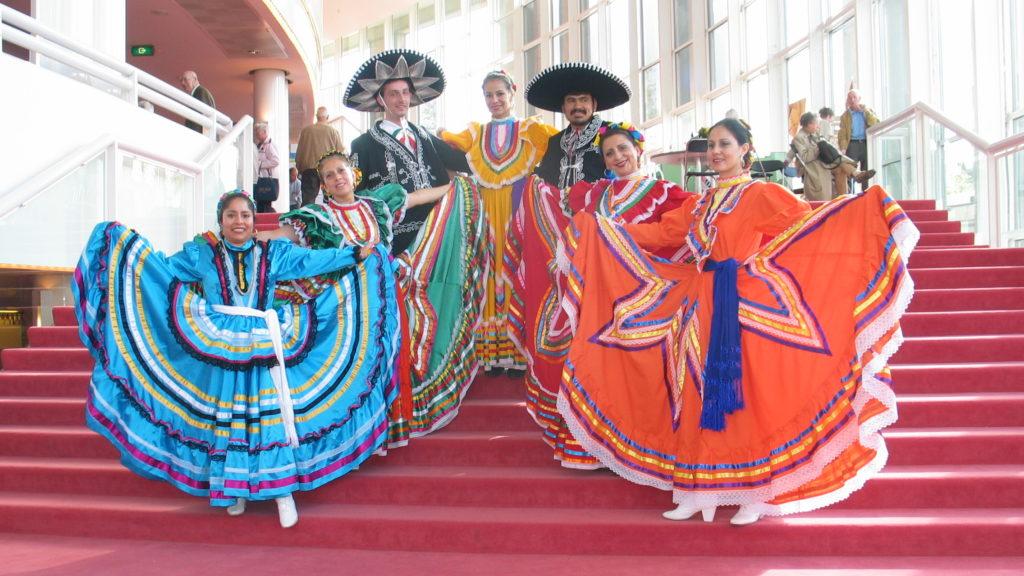 Mexicaanse dans, Mexicaanse dansers, Mexicaanse danseressen