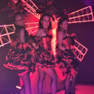 moulin rouge burlesque los del sol, french cancan show