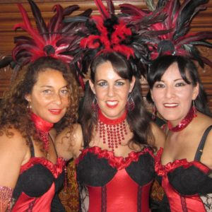 moulin rouge showgirls, burlesque showgirls
