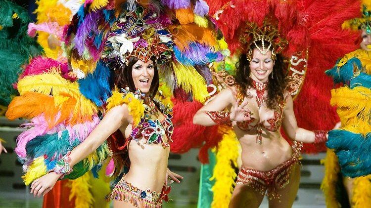 samba Braziliaanse danseressen 2