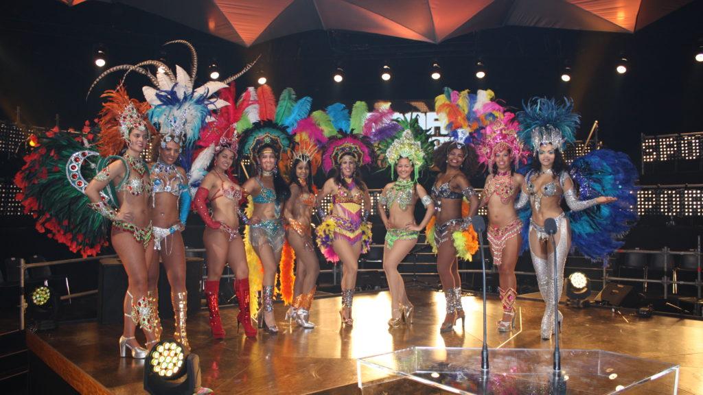 samba Braziliaanse danseressen sportgala