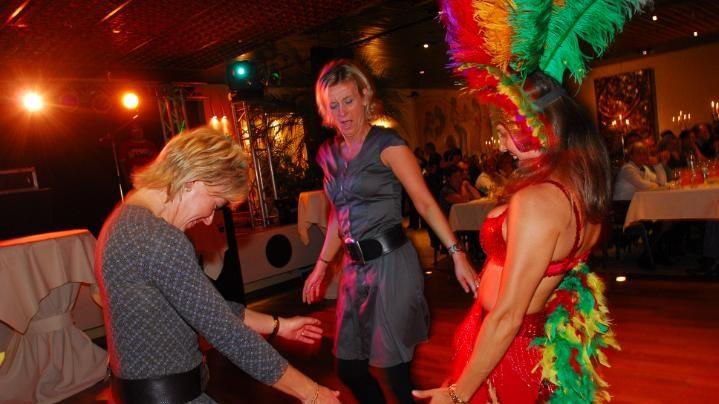 samba workshop, braziliaanse danseressen