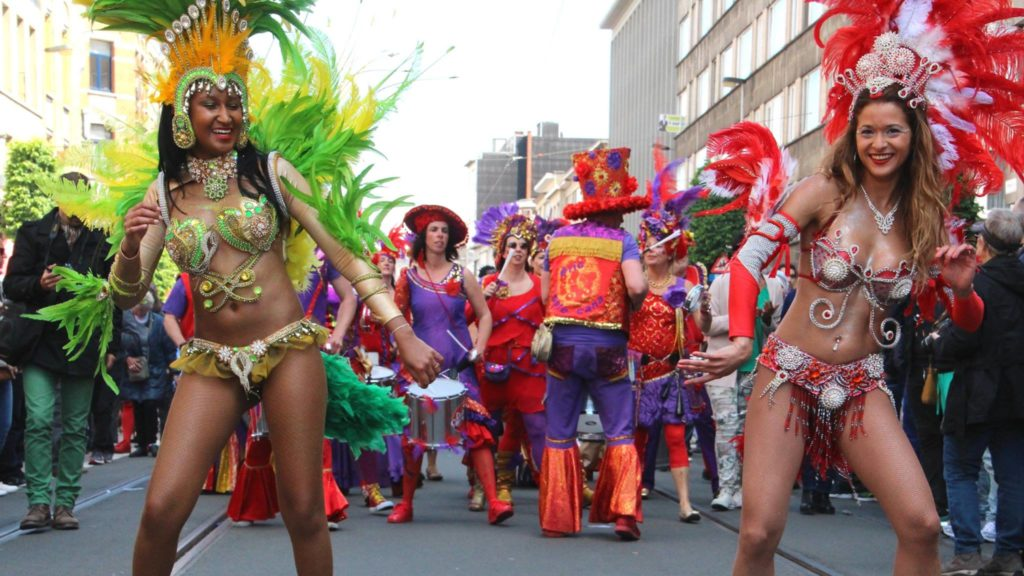 sambadancers los del sol, braziliaanse danseressen