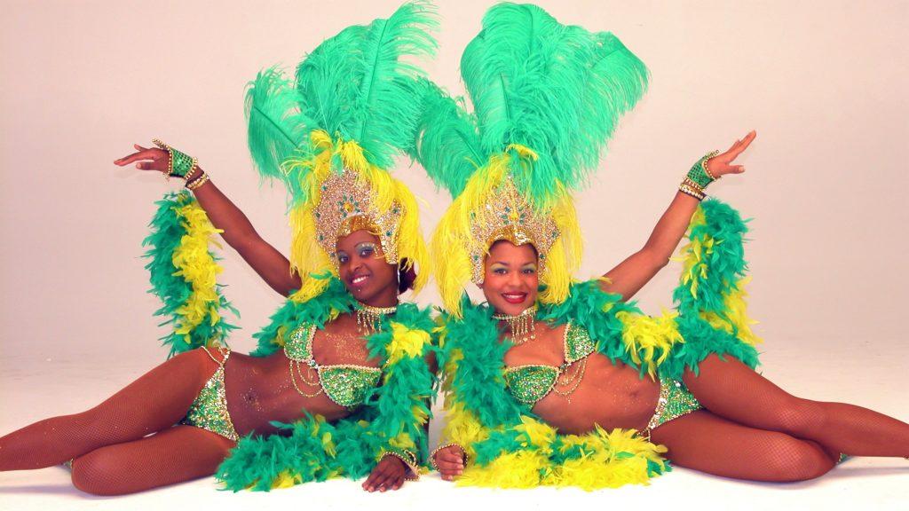 sambaduo, braziliaanse danseressen, brasil dancers los del sol
