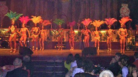 sambashow, braziliaanse danseressen, gala, samba dancers