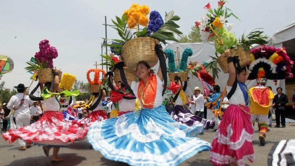 Mexicaanse dans, Mexicaanse dansgroep, Mexicaanse danseressen, danse Mexicaine, Cosecha
